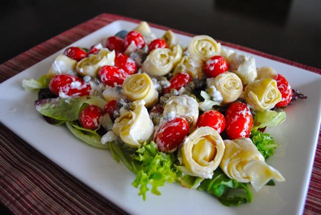 Салат итальянский из артишоков