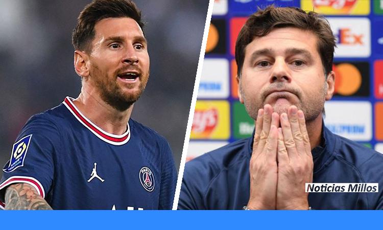 La PATALETA de Messi puede costarle el puesto a Pochettino en PSG