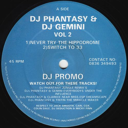 DJ Phantasy & DJ Gemini - Vol. 2 1992