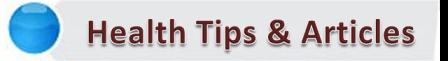 Health Tips & Articles SK Health SubKuch Web