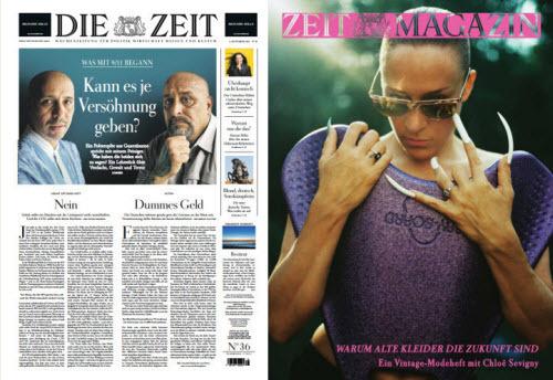 Cover: Die Zeit mit Zeit Magazin No 36 vom 02  September 2021