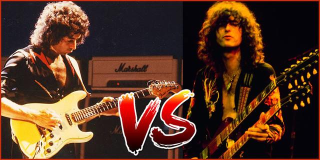 Duel de la semaine: Jimmy Page vs Ritchie Blackmore Vs