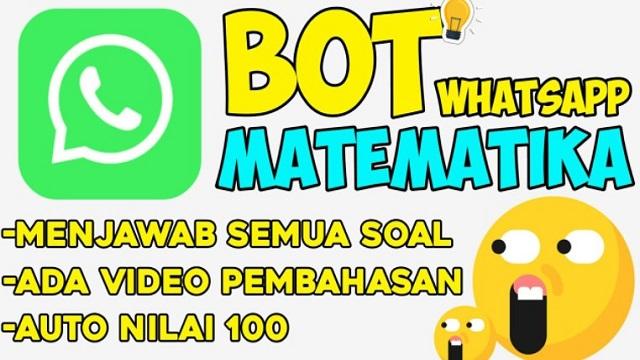 Nomor WA Bot Matematika, Dapatkan Jawabannya Disini!