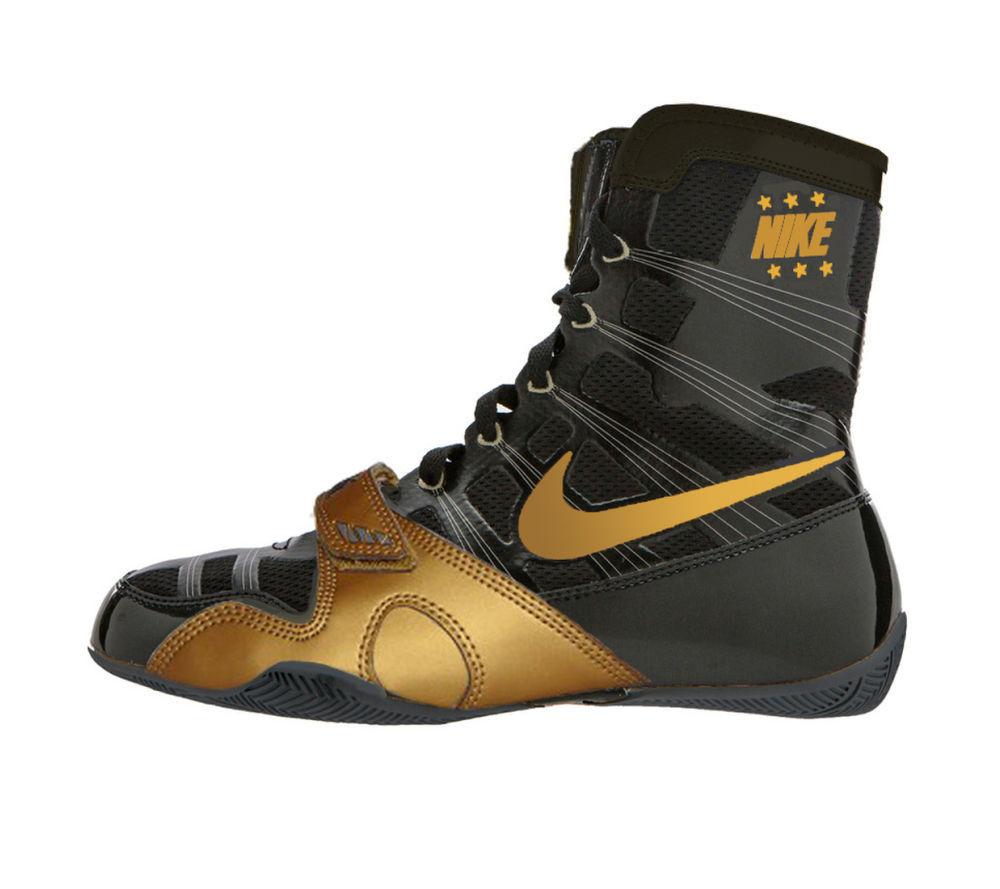 Оригинальные Боксерки Nike HyperKO Черные / Золото NEW США
