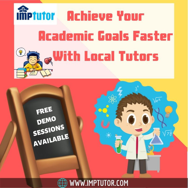 Want someone who can guide you in a proper way? Explore our online platform and find Local Tutors around your locality who can guide you at your home - IMPtutor. We make hiring tutors easy, just tell us your needs by filling a simple form and get a list of tutors who are available near you. We also offer expertise in specific subjects such as the Maths Home Tutor In Vadodara. If you are looking for the best Private Tutor In Vadodara, just visit us - https://www.imptutor.com/tutor-in-vadodara or call us @ +91 7999496840.
