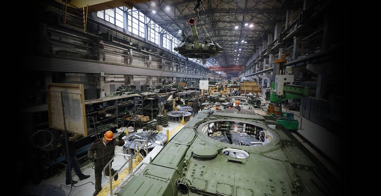 Срок — девять месяцев: как происходит второе рождение танков в цехах 000