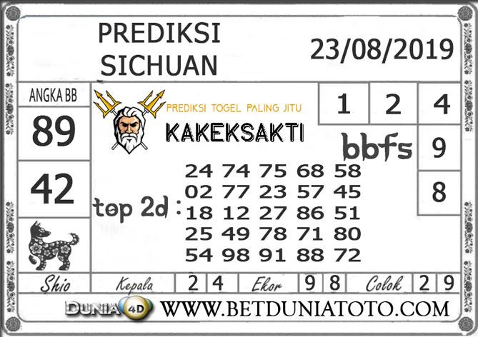 """Prediksi Togel """"SICHUAN"""" DUNIA4D 23 AGUSTUS 2019"""