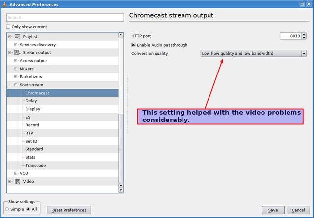 VLC: Chromecast secrets?