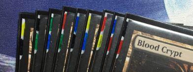 Color-indexed Shocklands