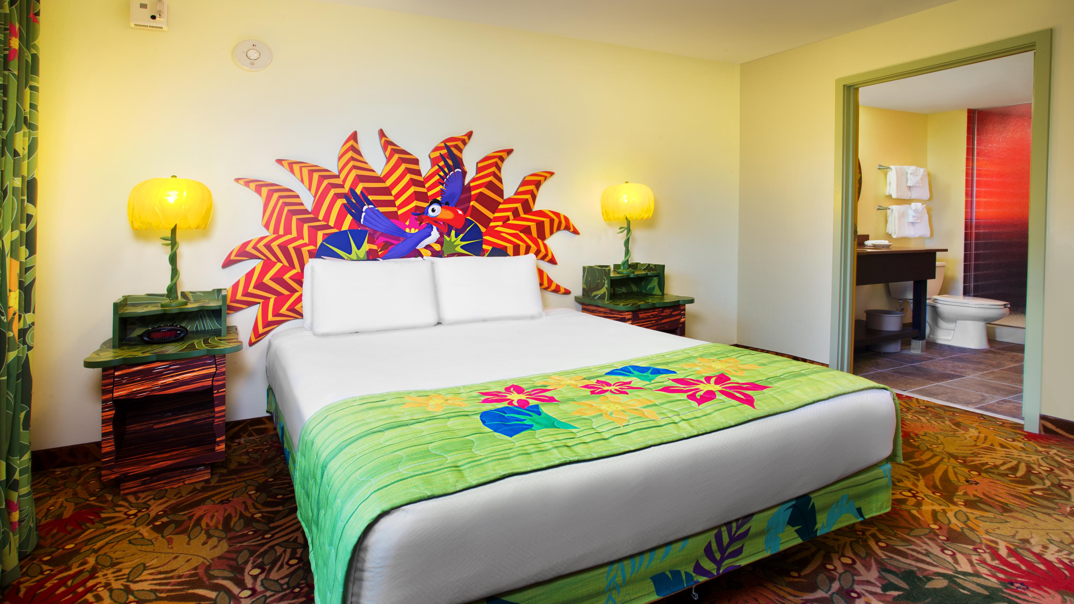 Lion King rooms at Disney's Art of Animation Resort