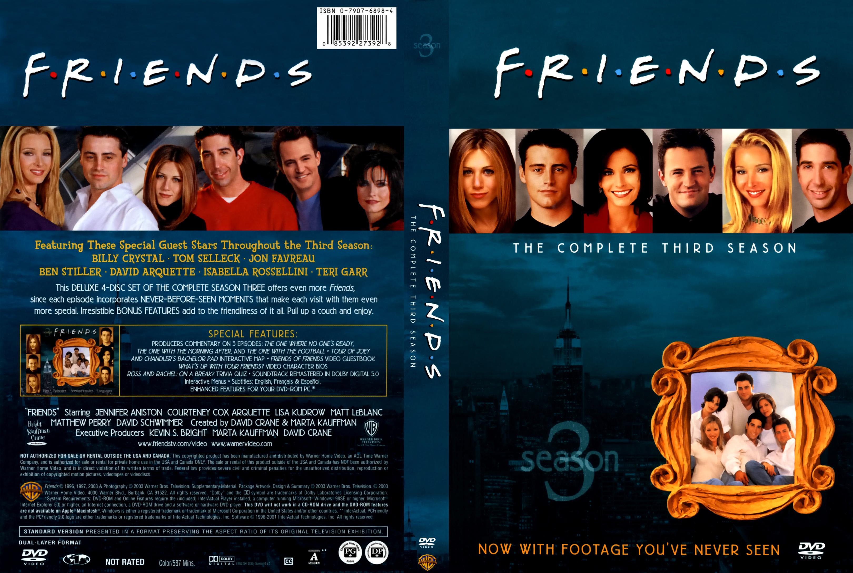 Friends Season 3 x265 10Bits 1080p Dual