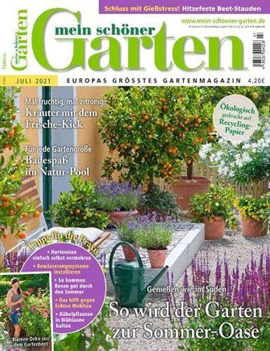 Cover: Mein schöner Garten Magazin No 07 Juli 2021