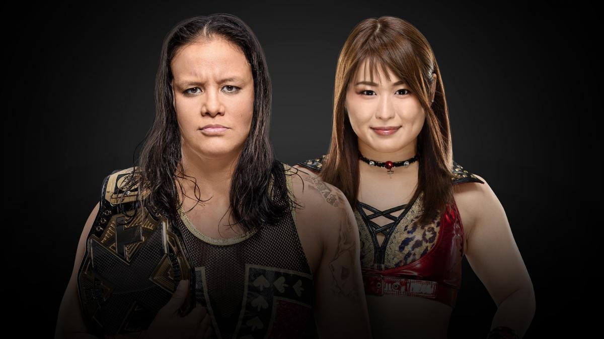 Shayna Baszler (c) vs. Io Shirai