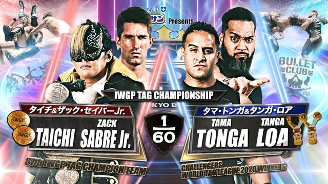 Dangerous Tekkers vs. Guerillas of Destiny Wrestle Kingdom 15 Online