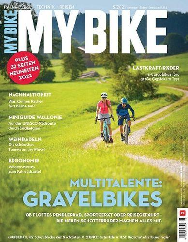 Cover: My Bike Magazin für Fahrradfahrer No 5 September-Oktober 2021