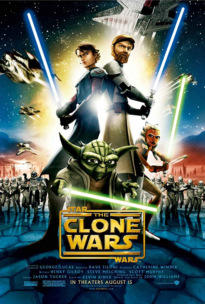 Star Wars: The Clone Wars 2008 Hindi Dual Audio 720p BluRay 600MB Download