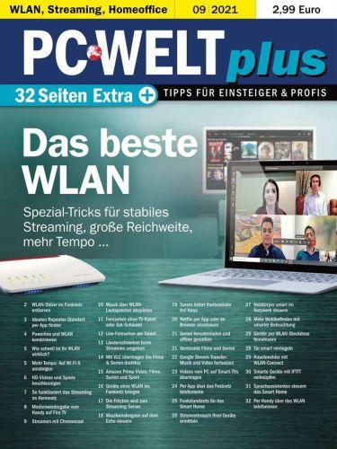 Cover: Pc Welt Plus Magazin September No 09 2021
