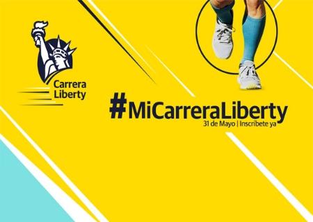 El 31 de Mayo llega la Carrera Liberty Virtual «Juntos en la distancia»