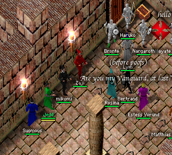 Estess Vorund at the Fort.