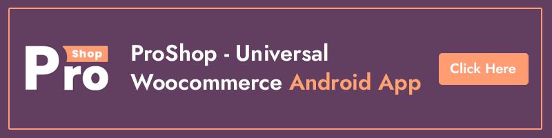 # woocommerce android app e-commerce full mobile app + kotlin WooBox banner Pros