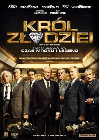 Król złodziei / King of Thieves (2018) PL.AC3.DVDRip.XviD-GR4PE | Lektor PL