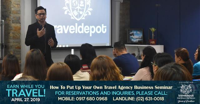 Travel Agency Business Seminar in Manila! | The Travel Depot