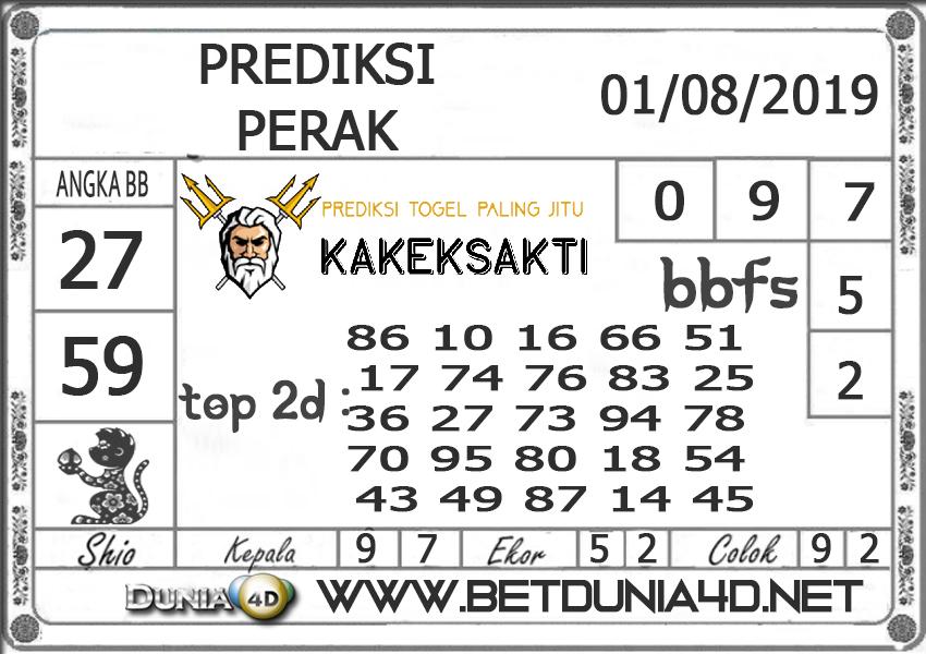 """Prediksi Togel """"PERAK"""" DUNIA4D 01 Agust 2019"""