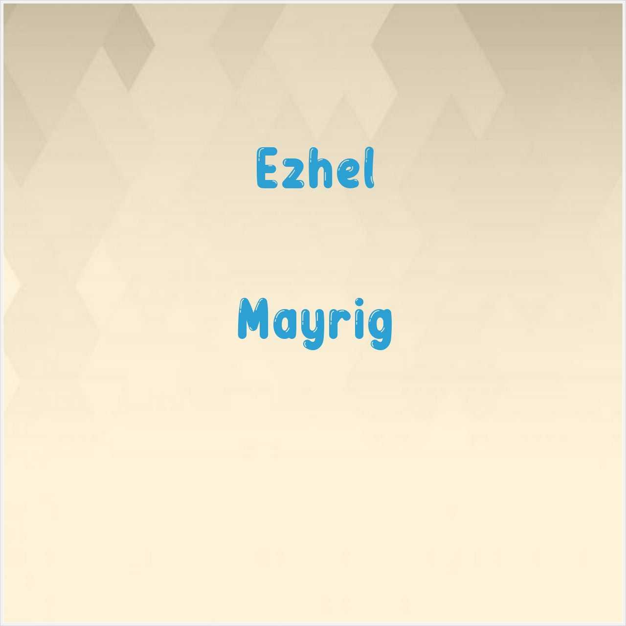 دانلود آهنگ جدید Ezhel به نام Mayrig