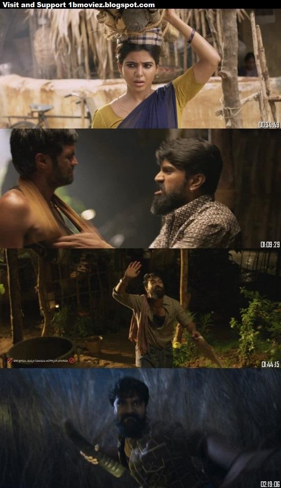 Rangasthalam 2018 Telugu 720p WEB-DL  Hindi Subtitles 1.2GB Movie