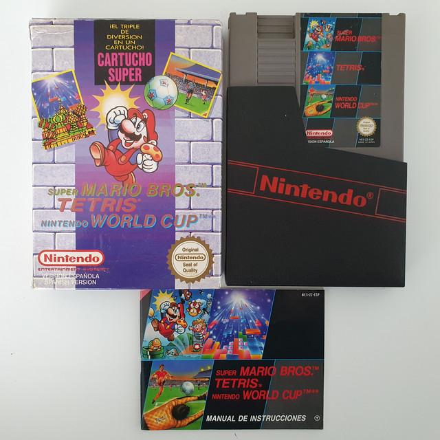 [VDS] Nes - Super Mario Bros 3 in 1 (PAL B ESP) complet 20210131-140940