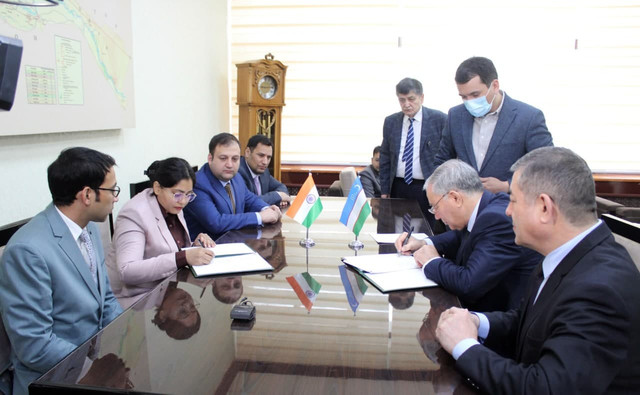 "A memorandum of cooperation was signed with  ""BLOOMPHASE SERVICES"" company of India"