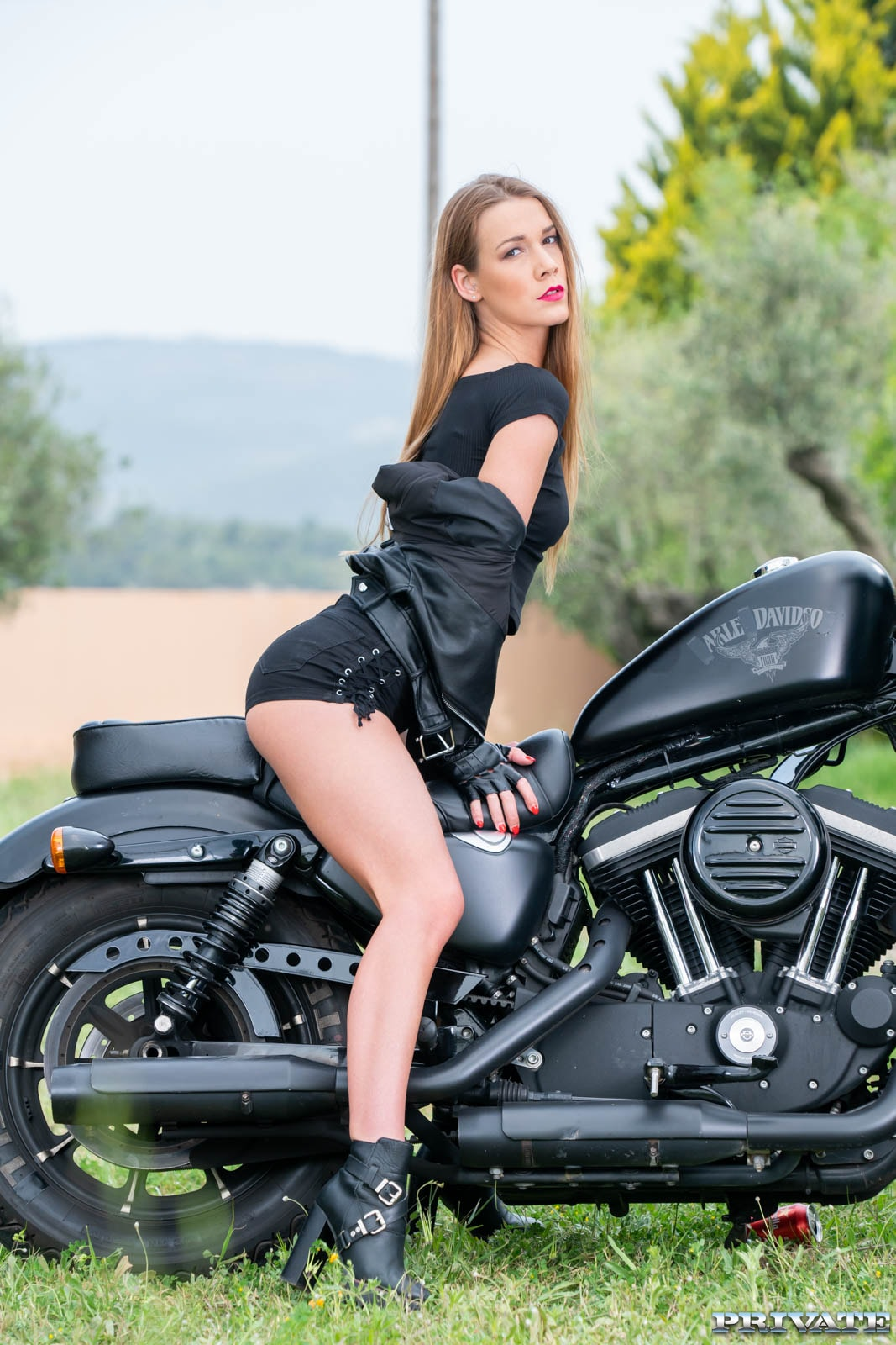 18+ Alexis Crystal Fucks On Motorbike (2021) New Adult 720p Download