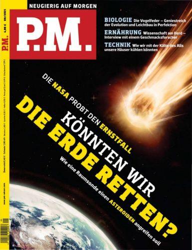 Cover: P M  Wissensmagazin (Neugierig auf Morgen) No 09 2021