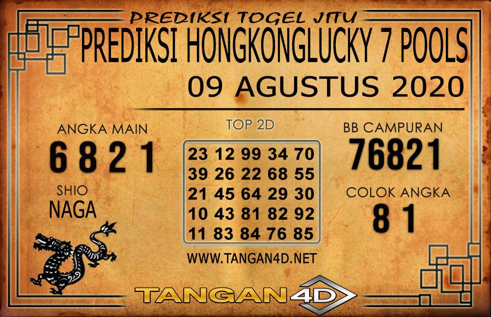 PREDIKSI TOGEL HONGKONG LUCKY 7 TANGAN4D 09 AGUSTUS 2020