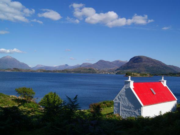 loch shieldaig, Vacation Scotland