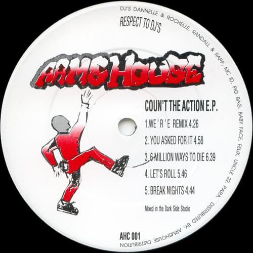 Lennie De Ice - Coun't The Action E.P.