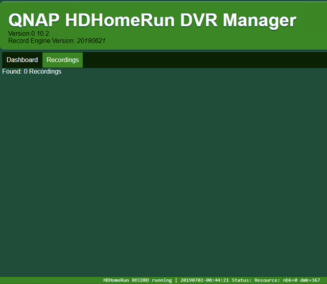 QNAP QPKG for DVR Record Engine - Page 34 - Silicondust