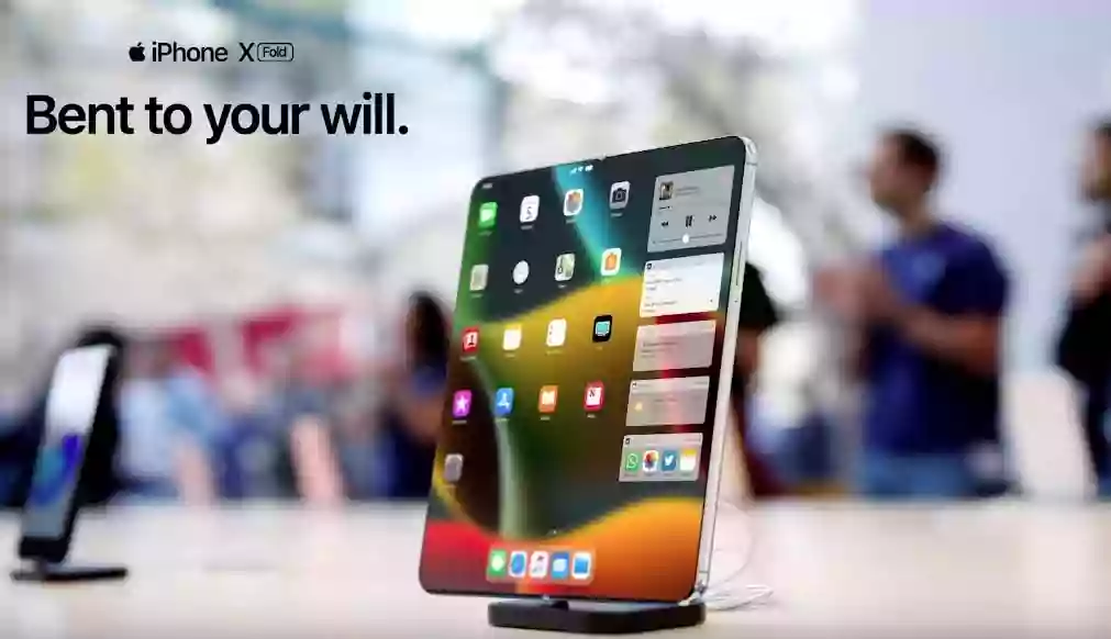 Foldable Iphone:Now apple tries the foldable as Samsung,Hauwei,MI