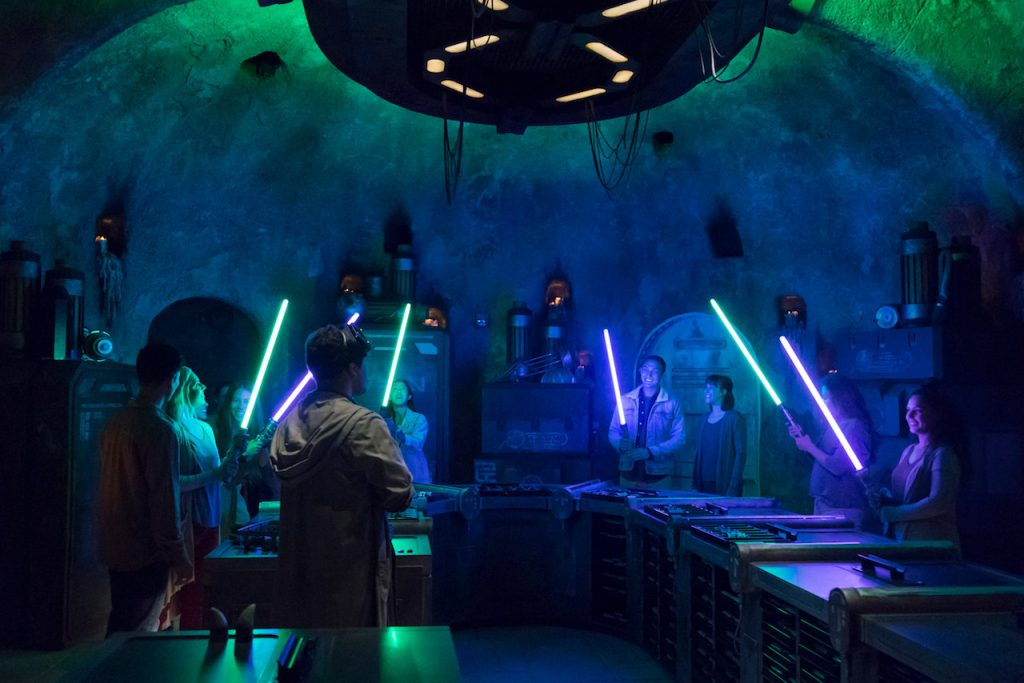 Star Wars Land Create Your Own Lightsaber