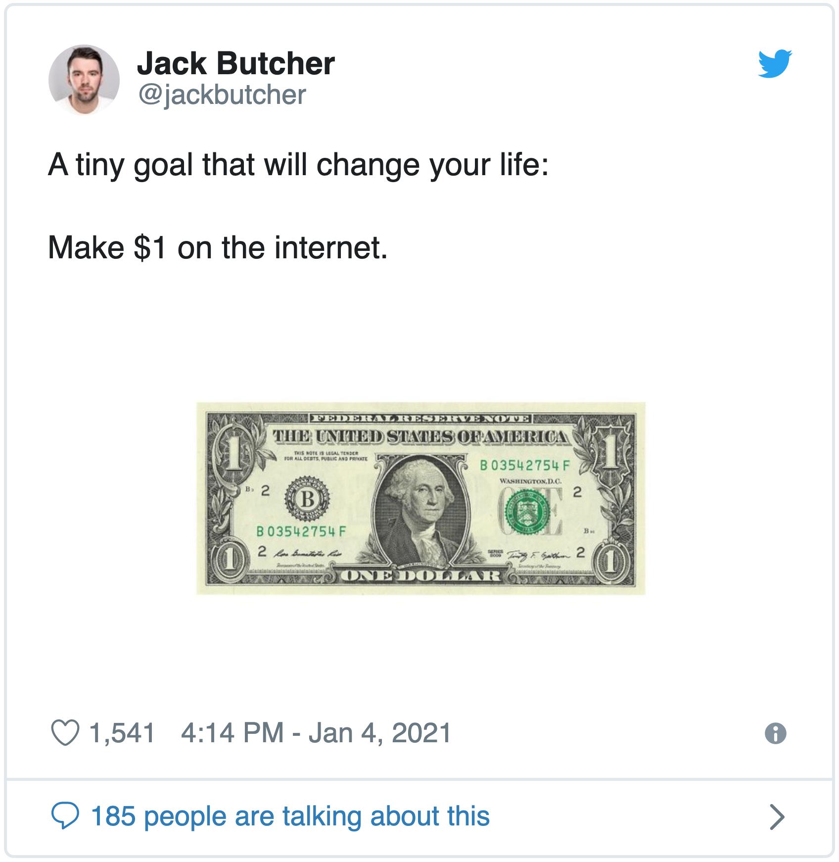 Jack Butcher on Twitter