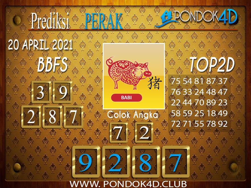 Prediksi Togel PERAK PONDOK4D 20 APRIL 2021