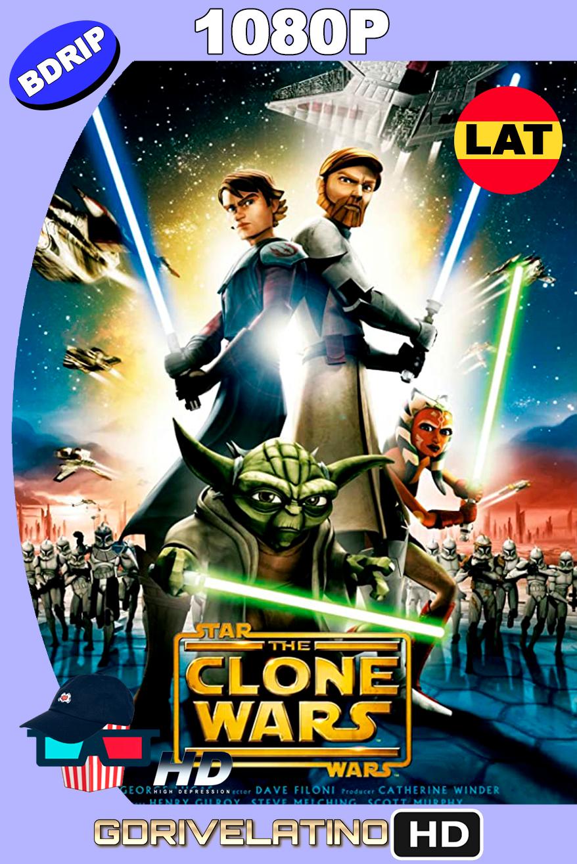 Star Wars: The Clone Wars (2008) BDrip 1080p Latino-Inglés MKV