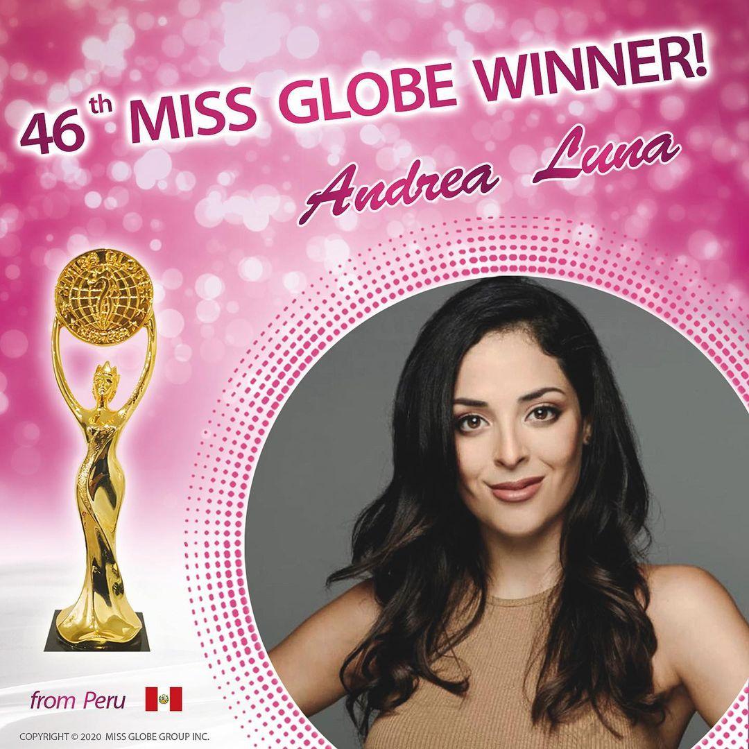 peru vence miss globe 2020. 127881732-1053298608452583-4364874453769284841-n