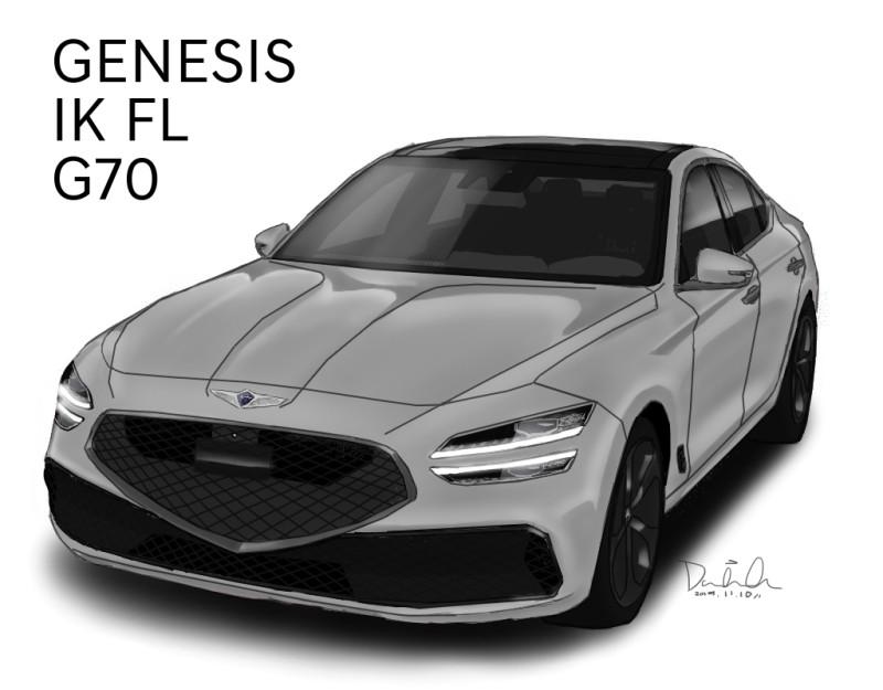 2021 Genesis G70 Restyling 19