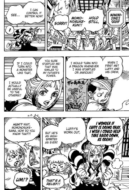 One Piece Chapter 1008 - Img 014