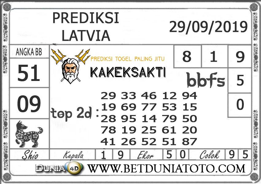 """Prediksi Togel """"LATVIA"""" DUNIA4D 29 SEPTEMBER 2019"""