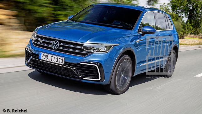 2021 Volkswagen Tiguan II Facelift 18