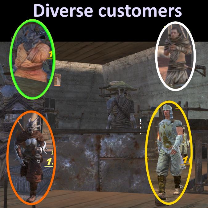 Fun merchant life (Shopping AI MOD)