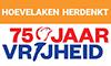 Logo 75 jaar vrijheid Hoevelaken