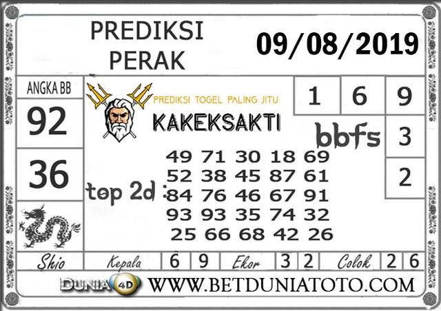 """Prediksi Togel """"PERAK"""" DUNIA4D 09 AGUSTUS 2019"""